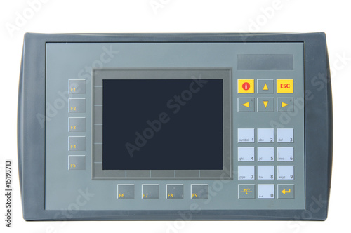 Industrial PLC with built-in operator panel - 15193713