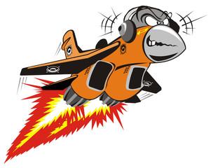 Vector Crazy Jet