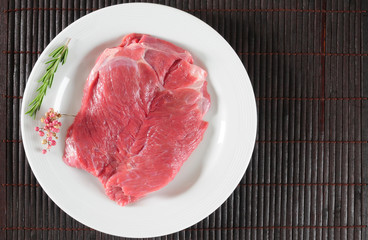 Red meat.