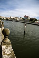 canal urbano, aveiro, portugal