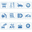 Web icons : Auto service icon ii