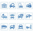 Web icons : Auto service icon i