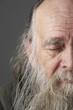 Senior Man With Long Beard