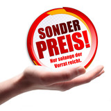 Sonderpreis! Button