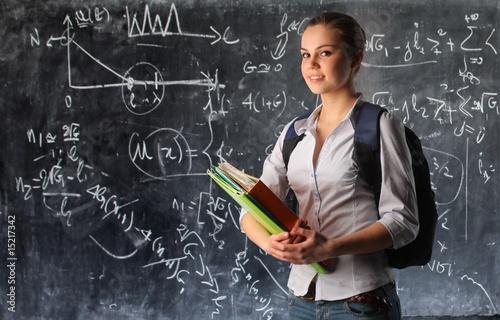 Fotobehang Overige student