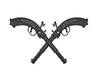 Cross pistols