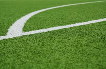 Fußballplatz Rasen-Ellipse