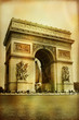 Great architecture - Arc-de-triumph - artistic style picture