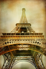 Eiffel tower - artistic style picture