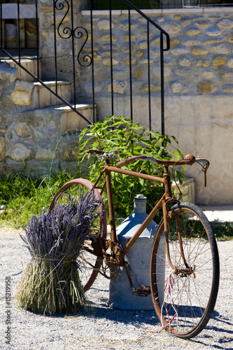 bicycle, Provence Departement, France