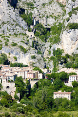 Moustiers Sainte Marie, Alpes-de-Haute-Provence, France