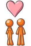 Design Mascots in Love poster