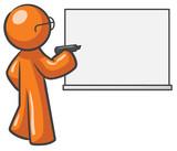 Design Mascot Dry Erase Board Blank poster