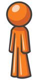 Design Mascot Standing Sideways poster