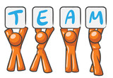 Design Mascot Team poster