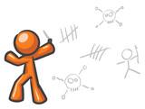 Design Mascot Insane Graffiti poster