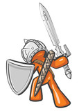 Design Mascot Warrior poster
