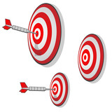 Multiple Targets Precision Aim Darts poster