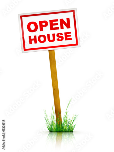 Artwork For Real Estate  - Sign Open House