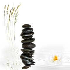 Zen Spa Stone Abstract