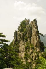 picchi di montagne cinesi, huangshan