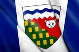 Flag of Northwest Territories (Canada) poster