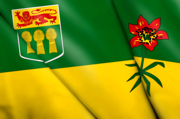 Flag of Saskatchewan (Canada)