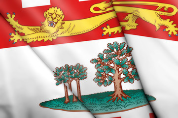 Flag of Prince Edward Island (Canada)