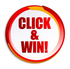 Click & Win! Button