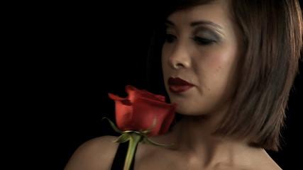 Portrait Of Attractive Oriental Girl