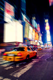Taxi in Times Square-