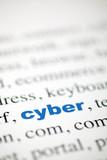 écriture du mot cyber focus poster