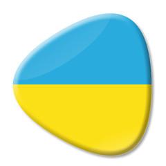 Ukrainebutton dreieckig