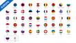 4/4 European icons