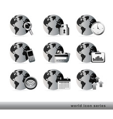 world icon series