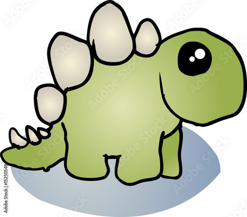 Stegosaurus dinosaur cartoon