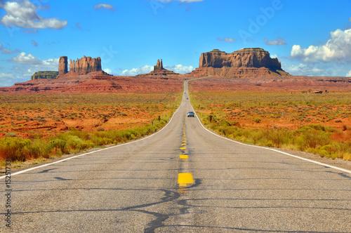 Papiers peints Parc Naturel Monument Valley Highway