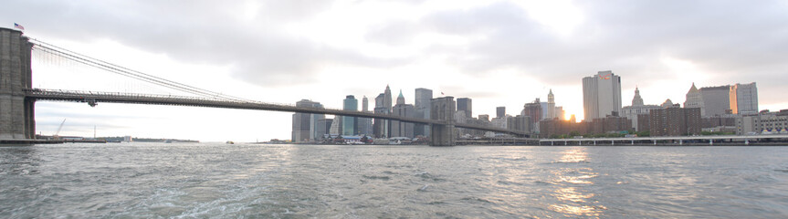 sky line di manhattan a new york