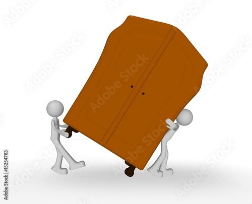 carry a wardrobe