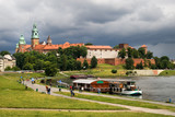 The Wawel Royal Castle in Cracow poster