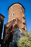 Medieval Defence Tower in Wawel Royal Castle poster