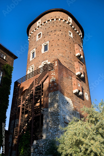poster of Medieval Defence Tower in Wawel Royal Castle