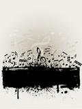 Fototapety Grunge music background
