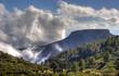 Tafelberg und Wolken 02 - La Gomera - HDR