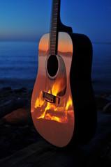 Fireside Guitar