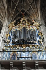 organo en la catedral