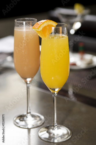Champagne Mimosas