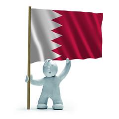 Bahrain Flagge flag