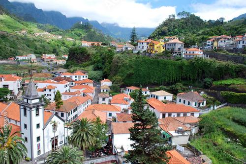 Leinwandbild Motiv Village de Sao Vicente à Madère