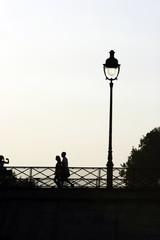 pont lampadaire